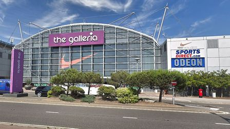 There was a fight between two women at the Galleria in Hatfield. Picture: Google street view.