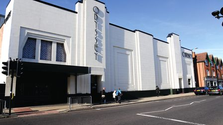 Odyssey Cinema pictured in Wendy Turner's A-Z of St Albans guide. Picture: Ray Wilkinson