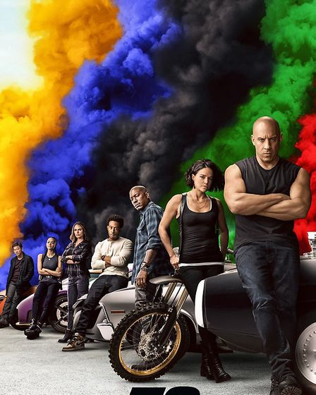 Fast and Furious 9 film poster. Picture: Universal Studios