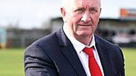 Wisbech Town chairman Paul Brenchley. Picture: IAN CARTER