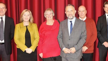 Thomas Clarkson Academy staff celebrate its 'good' Ofsted judgement: Brooke Weston Trust's chair of