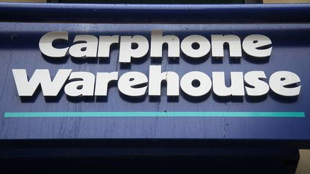 Carphone Warehouse is closing branches across the UK – including Wisbech. Picture: Yui Mok/PA Images