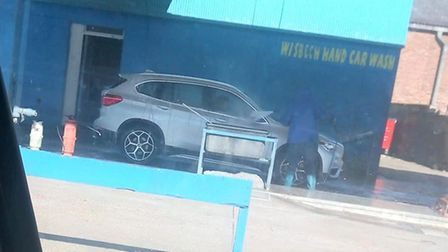 People have been photographed having their cars washed and valeted at Wisbech Hand Wash on Chapel Ro