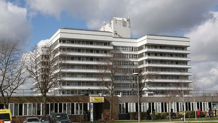 A patient died after coronavirus at Stevenage Lister Hospital. Picture: DANNY LOO