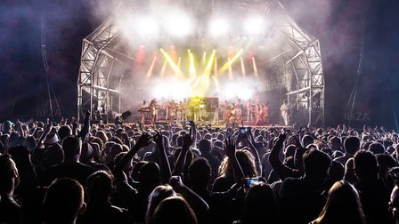 The Classic Ibiza stage at Hatfield House last summer. This year's concert has now been postponed. P