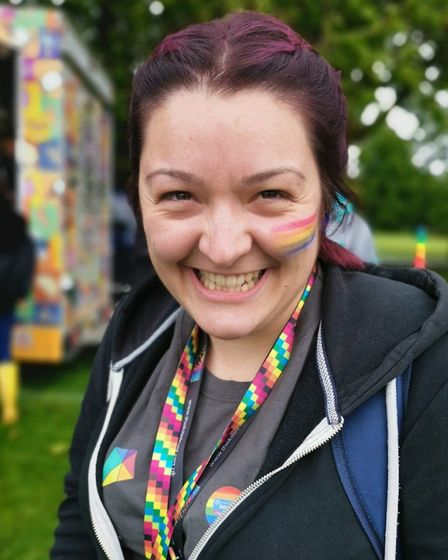 Rosie Woolgar has been nominated in the National Diversity Awards. Pictures: SUPPLIED