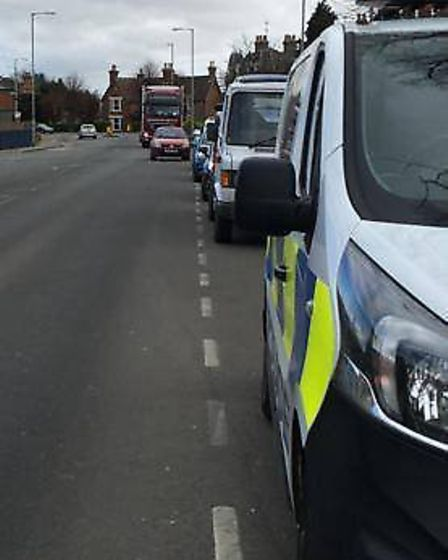Police have begun stopping motorists - this time in Wisbech - to quiz them about their reasons for t