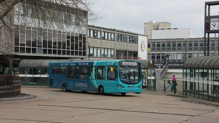Arriva buses in Stevenage. Picture: Supplied