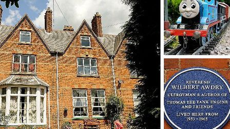 Former Fenland home of Rev Wilmot Awdry, the author of Thomas the Tank Engine, is for sale. It is in