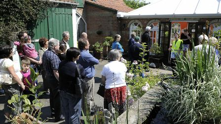 Official unveiling of the Wilbert Awdry Plaque at the Old Vicarage in Emneth where the first Thomas
