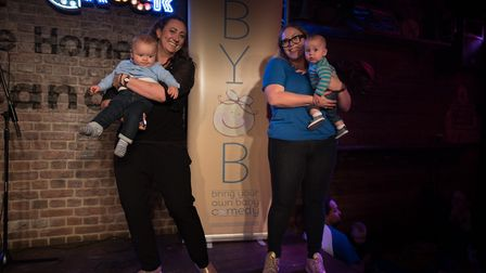 Bring Your Own Baby Comedy will be bringing new show Lockdown Laughs for Parents online. Picture: El