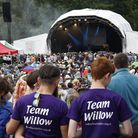 Willow volunteers at Hatfield music festival Folk by the Oak last summer. The festival will now retu