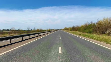 A keyworker thanked motorists for staying indoors after a picture of an empty A47 was shared online.