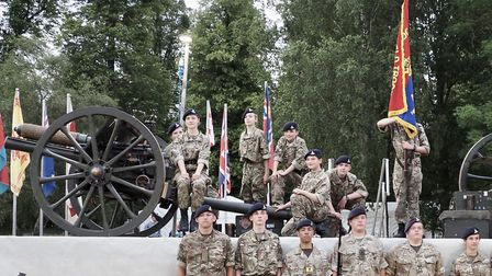 Cadets at Hatfield House Battle Proms 2019. Picture: John Andrews