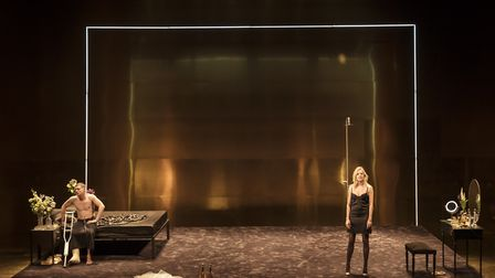 NT Live production of Tennessee Williams' Cat on a Hot Tin Roof, starring Sienna Miller and Jack O'C