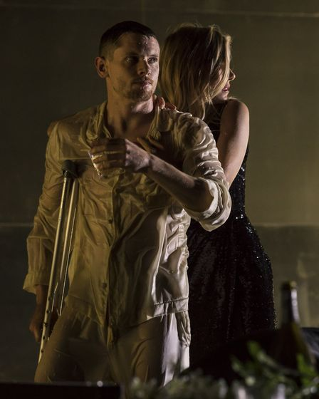 NT Live production of Tennessee Williams' Cat on a Hot Tin Roof, starring Sienna Miller, Jack O'Conn