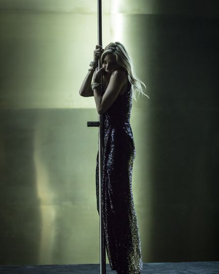 NT Live production of Tennessee Williams' Cat on a Hot Tin Roof, starring Sienna Miller. Picture: Jo