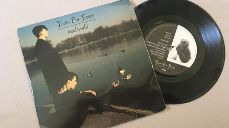Tears For Fears single Mad World. The video for the single was filmed in the grounds of Knebworth Ho