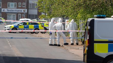 Body found in Wisbech,Sandall Road, WisbechSaturday 09 May 2020. A small team of forensic experts