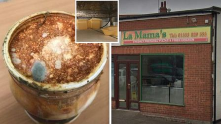La Mamas has been awarded zero following a food and hygiene inspection.