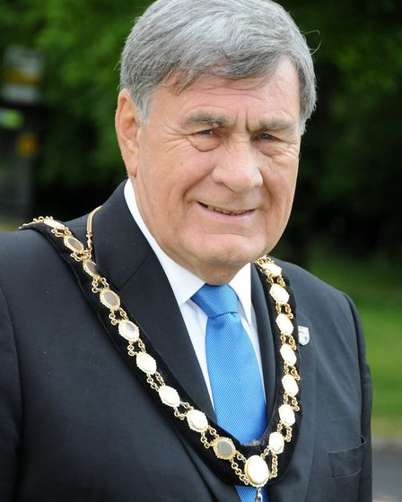Mayor of Welwyn Hatfield Cllr Roger Trigg. Picture: WHBC.