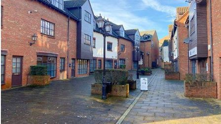 A planning application has been submitted to convert units in Church Mews, Wisbech, into flats