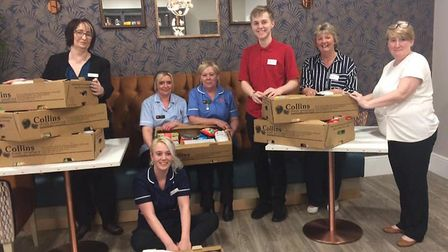 Staff at Lyncroft Care Home in Wisbech are to receive 'care packages' of essentials to help them dur