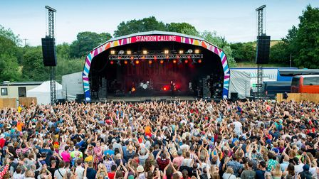 The main stage at last year's Standon Calling. Picture: Ania Shrimpton