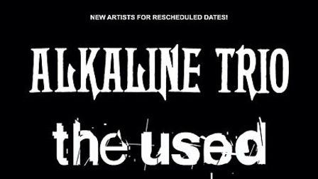 Alkaine Trio and The Used will both join the new Slam Dunk Festival 2020 line-up set for Hatfield an
