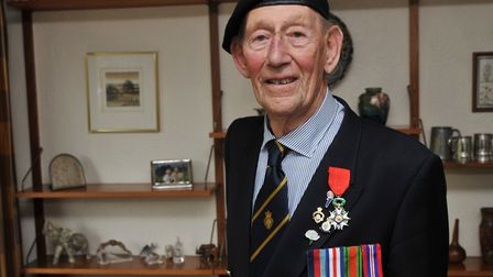Geoffrey Pulzer received the Legion D'Honneur in 2015 from the French ambassador in recognition of h