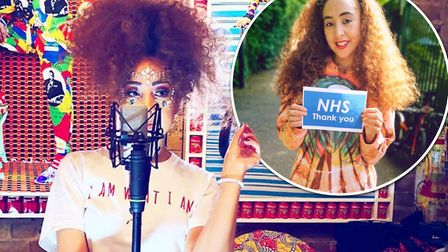 The Voice UKs Kenza Blanka has released a new album and hopes to raise 1,000 for NHS health care wor