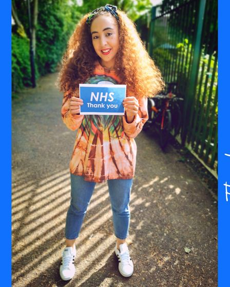 The Voice UK's Kenza Blanka has released a new album and hopes to raise £1,000 for NHS health care w