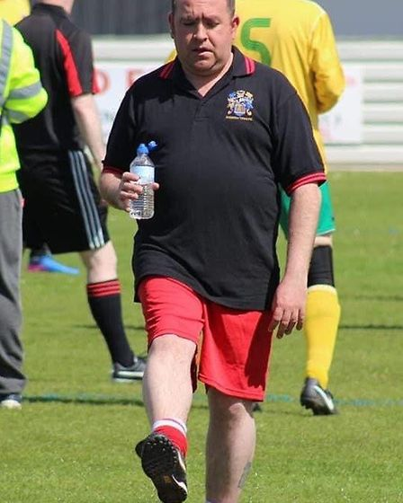 Jonny Pearce manages the Wisbech Town FC Walking Football team as well as the Eastern Nomads and Sco