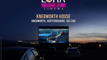 The Luna Drive In Cinema is coming to Knebworth House this summer with Rocketman one of the films to