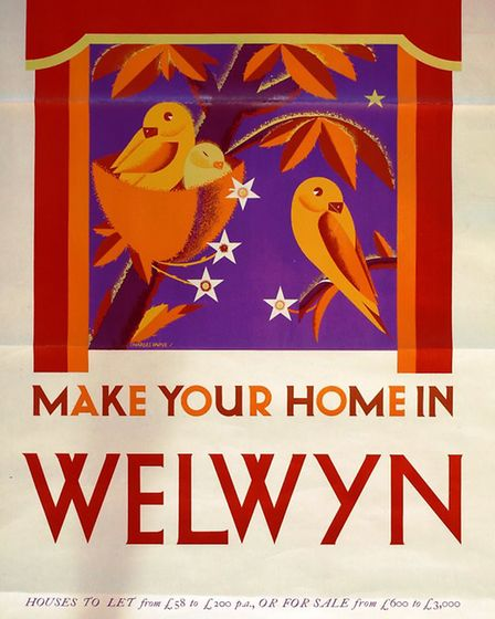 A poster encouraging people to move to WGC.