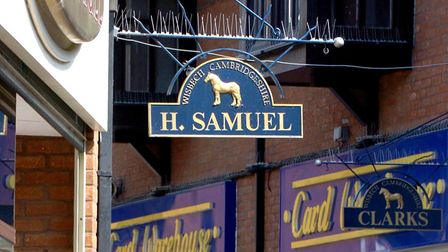 H. Samuel has closed its branch in the Horsefair Shopping Centre in Wisbech.