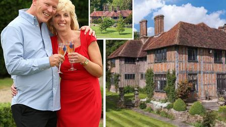 Dave and Angela Dawes were burgled in the 4 million luxury mansion they bought with their EuroMillio