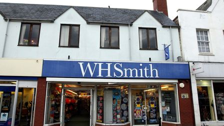 The WH Smith shop in Wisbech, Cambridgeshire where Dave and Angela Dawes who bought their jackpot-wi