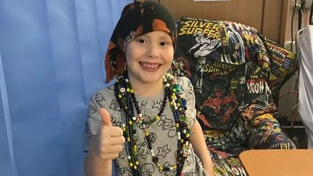Six-year-old Niall from Wisbech has completed his cancer treatment and is on a road to recovery foll