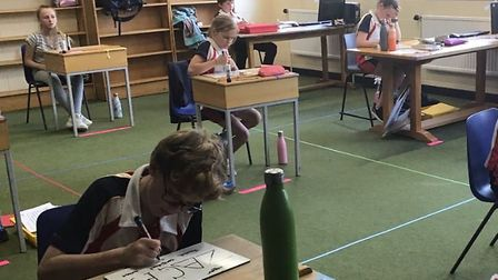 Wisbech Grammar School have shared how students and teachers are adjusting to school life during the