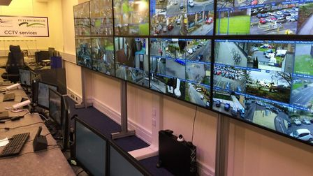 New CCTV control room covering Fenland and Peterborough has opened. Picture; FDC