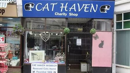 Cat Haven is closing its charity shop in the Market Place, Wisbech, but will still continue to opera