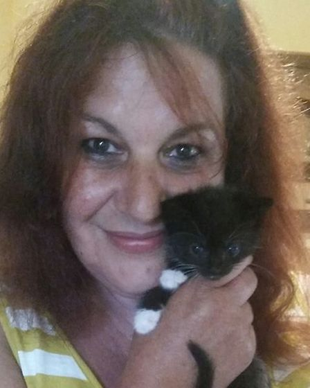 Tracy Reeve, who founded the charity Cat Haven with her sister Julie Dutton in 1988. Picture: Submit