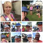 Sarah-jane Macdonald had fantastic support on her 54-mile run, from morning until midnight