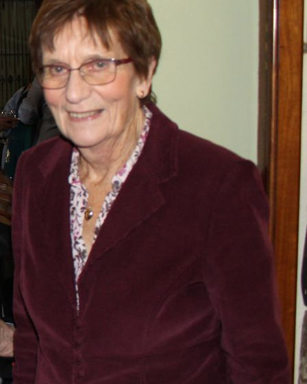Wisbech and Fenland Museum volunteer Madeline Johnson. Picture: Wisbech Museum