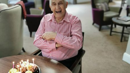 Residents at Lyncroft Care Home have tablets and a 'Pen Pal Scheme' to keep in touch with family an