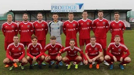 The Wisbech Town FC squad ahead of the 2016-17 season. Picture: ARCHANT