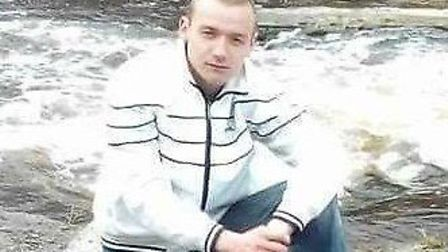 Mindaugas Arlauskas (pictured) was found outside an industrial unit in Sandall Road, Wisbech on Satu