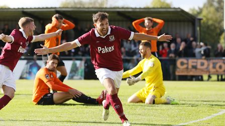 Potters Bar Town made the fourth qualifying round of the FA Cup last season. Picture: DANNY LOO