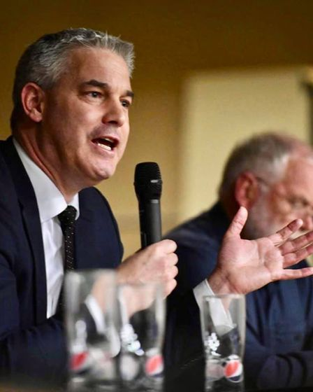 'The scheme is deeply flawed' MP Steve Barclay told a piublic meeting in March. Hundreds turned up